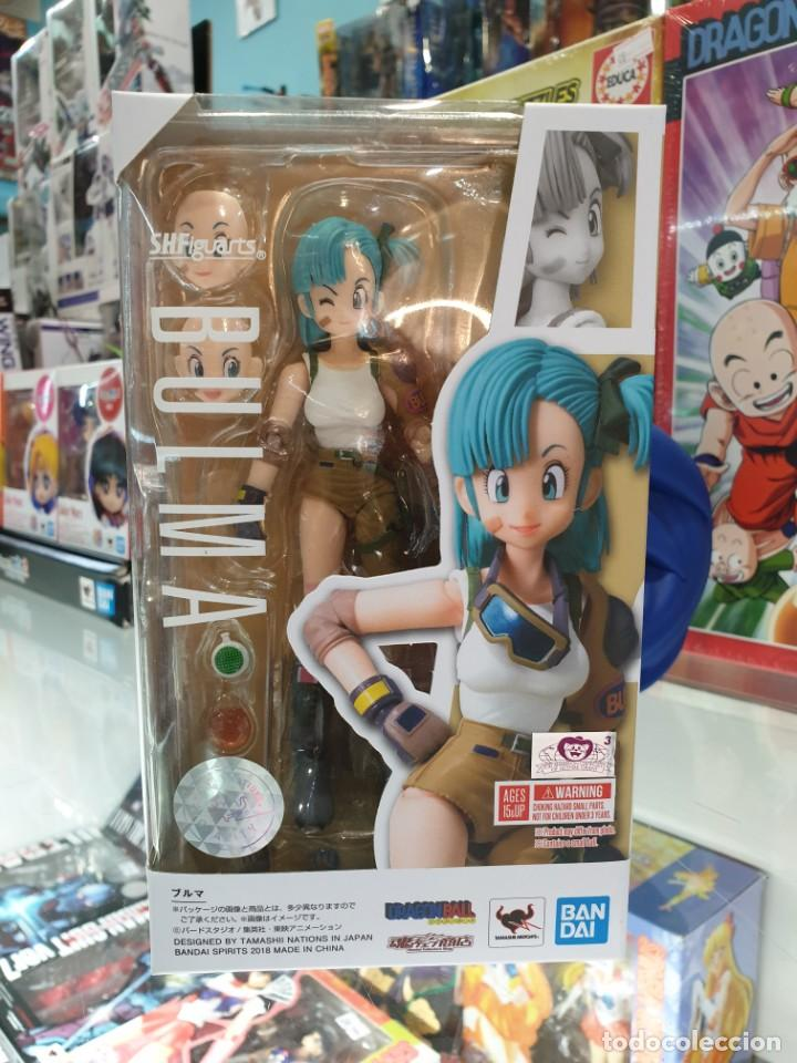 BULMA SH FIGUARTS DRAGON BALL TAMASHII NATIONS (Juguetes - Figuras de Acción - Manga y Anime)