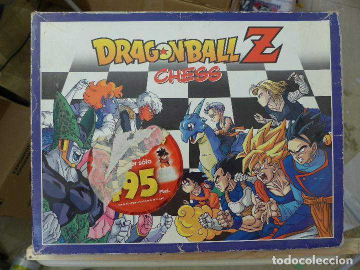 DRAGON BALL Z CHESS - AJEDREZ BOLA DE DRAGON DE PLANETA DEAGOSTINI (Juguetes - Figuras de Acción - Manga y Anime)