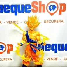 Figuras y Muñecos Manga: DRAGON BALL Z FIGUARTS ZERO SUPER SAIYAN SON GOKU 16CM. Lote 200023555