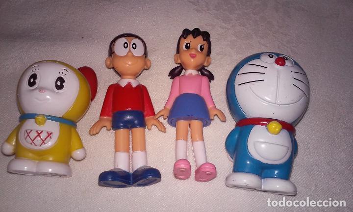 DORAEMON, NOBITA, SHIZUKA Y DARAMI (PERSONAJES SERIE DORAEMON) FUJIKO PRO (Juguetes - Figuras de Acción - Manga y Anime)