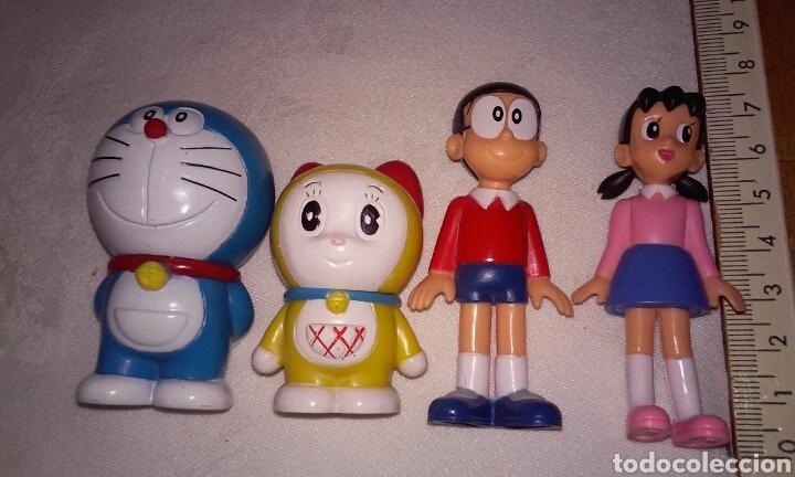 Figuras y Muñecos Manga: DORAEMON, NOBITA, SHIZUKA Y DARAMI (personajes serie Doraemon) FUJIKO PRO - Foto 2 - 200069916