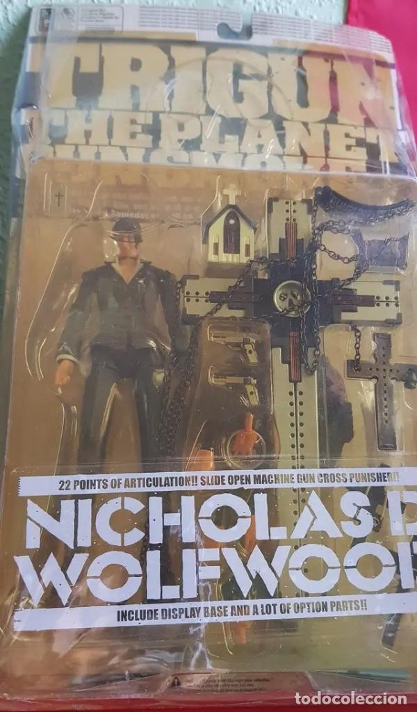 Figuras y Muñecos Manga: TRIGUN NICHOLAS D. WOLFWOOD 2000/02 (NUEVA) - Foto 2 - 200620377