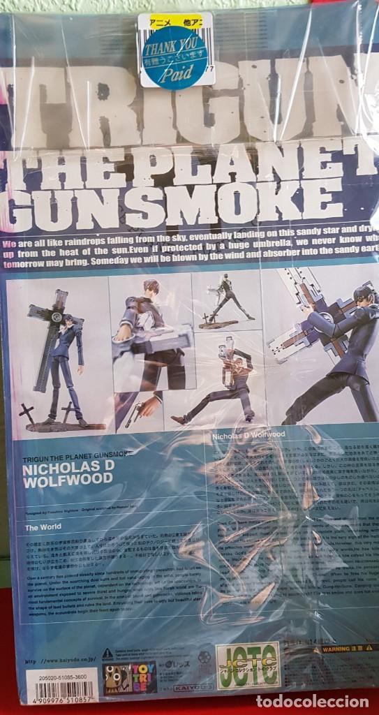 Figuras y Muñecos Manga: TRIGUN NICHOLAS D. WOLFWOOD 2000/02 (NUEVA) - Foto 7 - 200620377