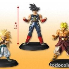 Figuras y Muñecos Manga: DB KAI MOVIE, BROLY-GOTENKS Y BARDUCK 2010 (HQDX CAJA NEGRA ) NUEVOS. Lote 175418344