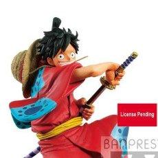 Figuras y Muñecos Manga: ONE PIECE MONKEY D. LUFFY 16 CM WANOKUNI KING OF A. Lote 205653635