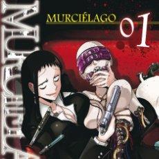 Figuras y Muñecos Manga: MURCIELAGO 01 - PANINI - NUEVO. Lote 205653643