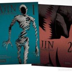 Figuras y Muñecos Manga: AJIN 01 Y 02 PACK INICIACION - NORMA - NUEVO. Lote 205653687