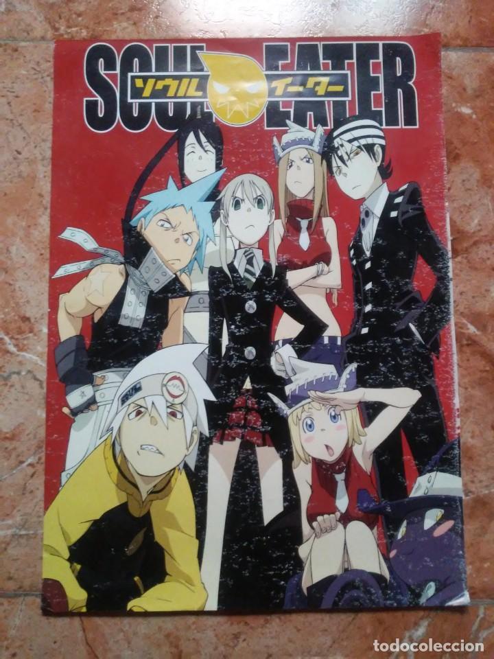 Figuras y Muñecos Manga: Póster Soul Eater Lámina color - Foto 10 - 209801685
