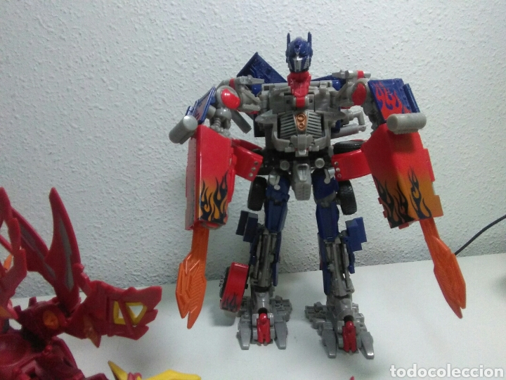 Figuras y Muñecos Manga: Figuras accion manga ,transformer y dragon - Foto 3 - 214202496