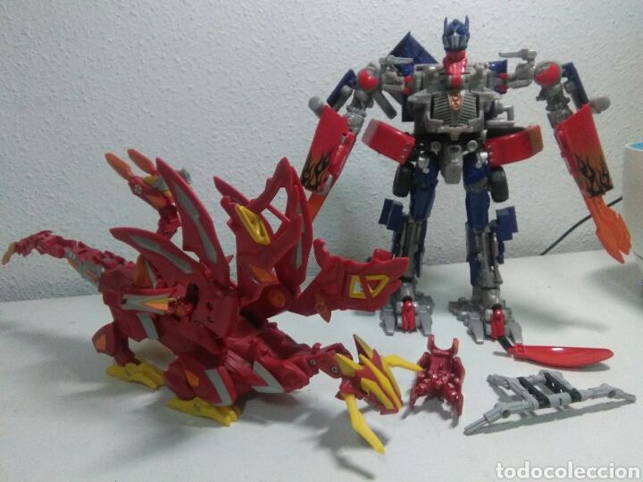 Figuras y Muñecos Manga: Figuras accion manga ,transformer y dragon - Foto 11 - 214202496