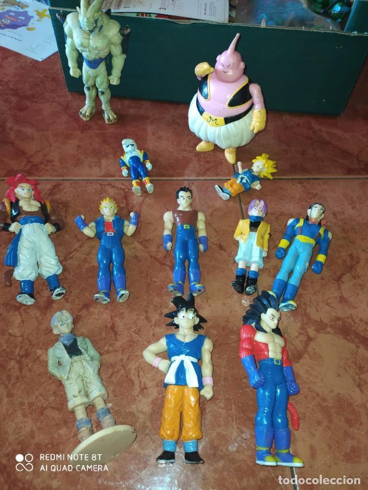 DRAGON BALL. LOTE DE 12 FIGURAS ACCION. DIFERENTES SAGAS (Juguetes - Figuras de Acción - Manga y Anime)