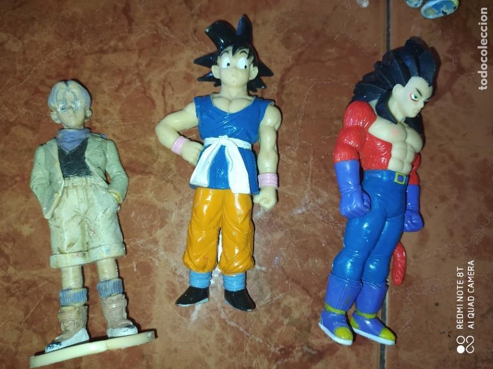 Figuras y Muñecos Manga: DRAGON BALL. LOTE DE 12 FIGURAS ACCION. DIFERENTES SAGAS - Foto 2 - 215930997