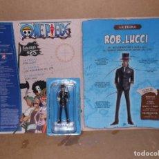 Figuras y Muñecos Manga: FIGURA ROB LUCCI ONE PIECE LA COLECCION OFICIAL. Lote 218243868