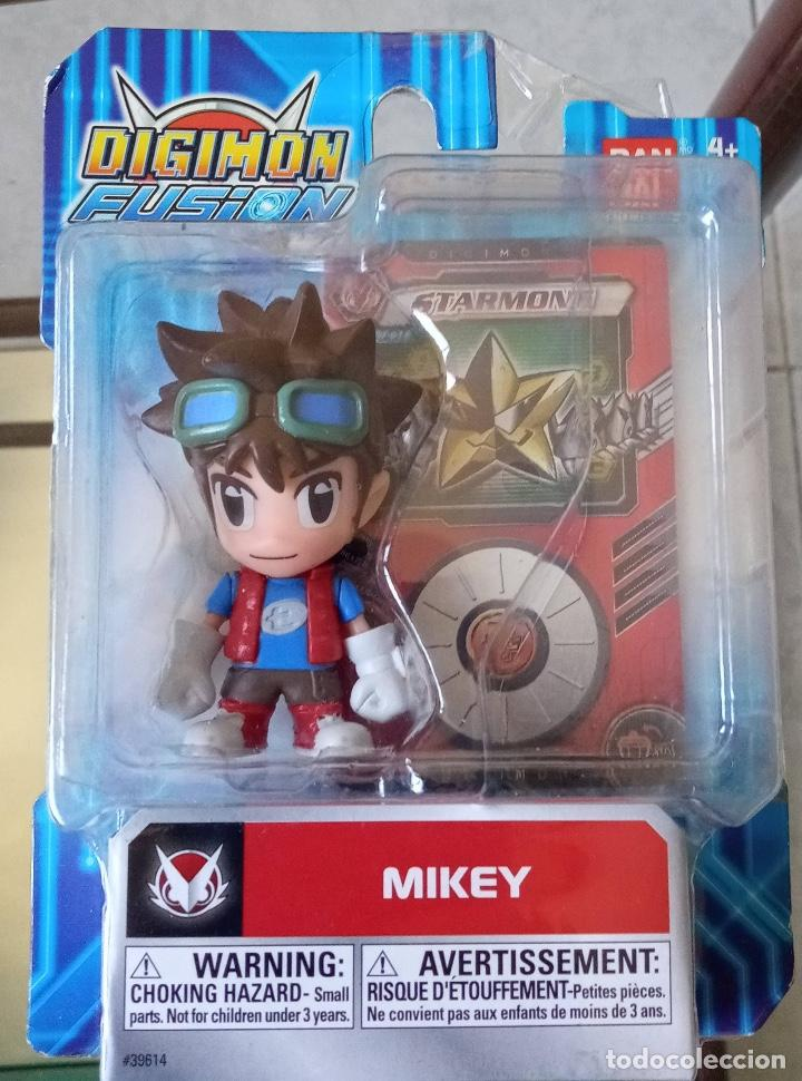 DIGIMON FUSION MIKEY BANDAI NUEVO (Juguetes - Figuras de Acción - Manga y Anime)
