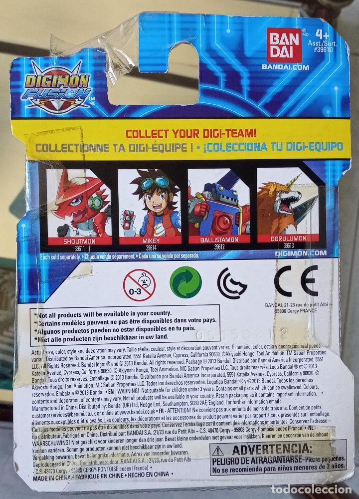 Figuras y Muñecos Manga: Digimon Fusion Mikey Bandai Nuevo - Foto 2 - 222341465