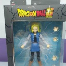 Figuras y Muñecos Manga: FIGURA ANDROIDE C18 DRAGON STARS DRAGON BALL. Lote 222355883