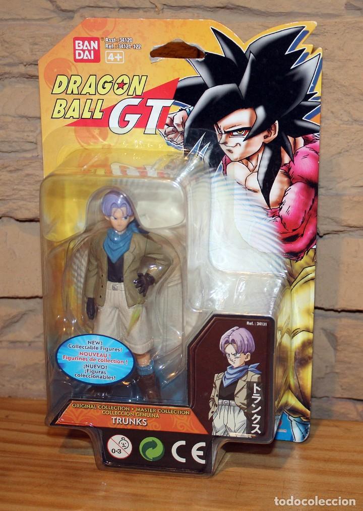 DRAGON BALL GT - FIGURA DE TRUNKS - BANDAI - BLISTER SIN ABRIR - TOEI ANIMATION (Juguetes - Figuras de Acción - Manga y Anime)