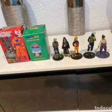 Figuras y Muñecos Manga: LOTE DE 5 FIGURAS DRAGON BALL CON DOS CAJA PARA COLECCIONAR. VER FOTOS. Lote 224677360