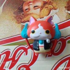 Figuras y Muñecos Manga: YOKAI WATCH FIGURITA JAPONESA JIBANYAN. Lote 227057030