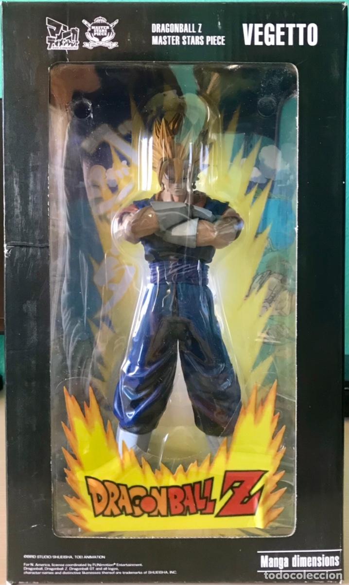 FIGURA DRAGON BALL Z VEGETTO SUPER SAIYAN NUEVO 30 CM BOLA DE DRAGON 1/6 EN CAJA SSJ1 SSJ2 SUPER (Juguetes - Figuras de Acción - Manga y Anime)