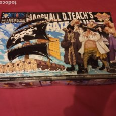 Figuras y Muñecos Manga: ONE PIECE GRAND SHIP COLLECTION MARSHALL D. TECH'S - BANDAI JAPAN 2015 MAQUETA BARCO FIGURA NUEVA !. Lote 238201225