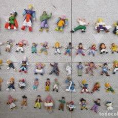 Figuras y Muñecos Manga: 66 FIGURAS DRAGON BALL - BOLA DE DRAGON + CAJA SUPER GUERRIERS / SON GOKU / VEGETA / PICCOLO / CELL. Lote 240255620
