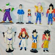 Figuras y Muñecos Manga: LOTE DE 9 ANTIGUAS FIGURAS DRAGON BALL GT PLANETA DEAGOSTINI 1996 - BOLA DE DRAGON - BOLA DE DRAC. Lote 243924660