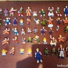 Figuras y Muñecos Manga: LOTE DE 50 FIGURAS DRAGON BALL GASHAPON AB TOYS 1989. Lote 243968840