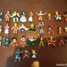 Figuras y Muñecos Manga: LOTE DE 30 FIGURAS DRAGON BALL GASHAPON AB TOYS 1989. Lote 243969110