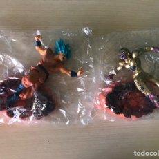 Figuras y Muñecos Manga: LOTE 2 FIGURAS DRAGON BALL Z FREEZER GOKU - FRIEZA BOLA DRAGON BLUE SAIYAN VEGETA DBZ CON CAJA NUEVO. Lote 244429335