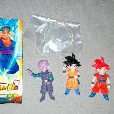 Figuras y Muñecos Manga: DRAGON BALL SUPER COLLECTABLE FIGURE D2, LOTE DE CUATRO FIGURAS. Lote 254628425