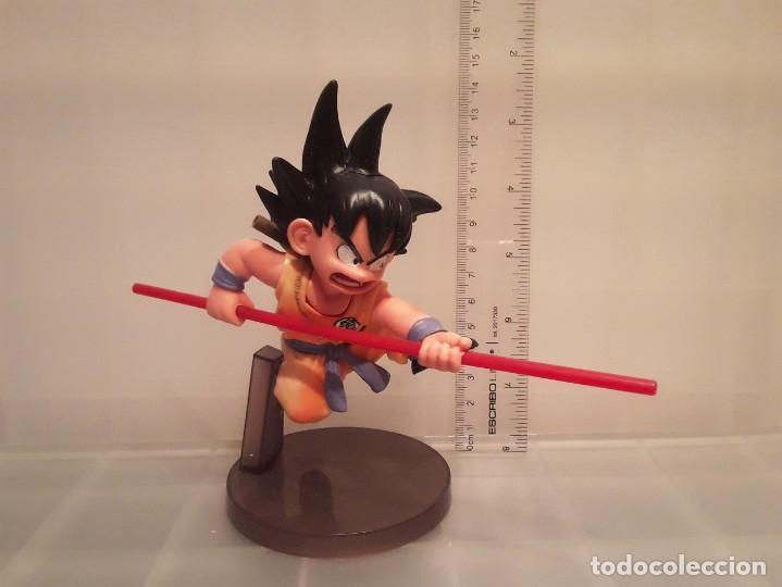 Figuras y Muñecos Manga: FIGURA DRAGON BALL GOKU CON BASTON - Foto 4 - 254873410