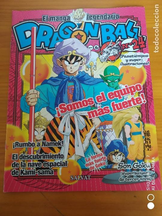 Figuras y Muñecos Manga: FIGURA DRAGON BALL - GOKU SUPERSAIYANO 3 - Nº 24 SALVAT LEGEND OF MANGA - 10 CM - CON REVISTA (HY) - Foto 3 - 261122640