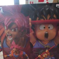 Figure e Bambolotti Manga: DRAGON BALL SUPER SAIYAN GOD Y SON GOKU. Lote 262246375
