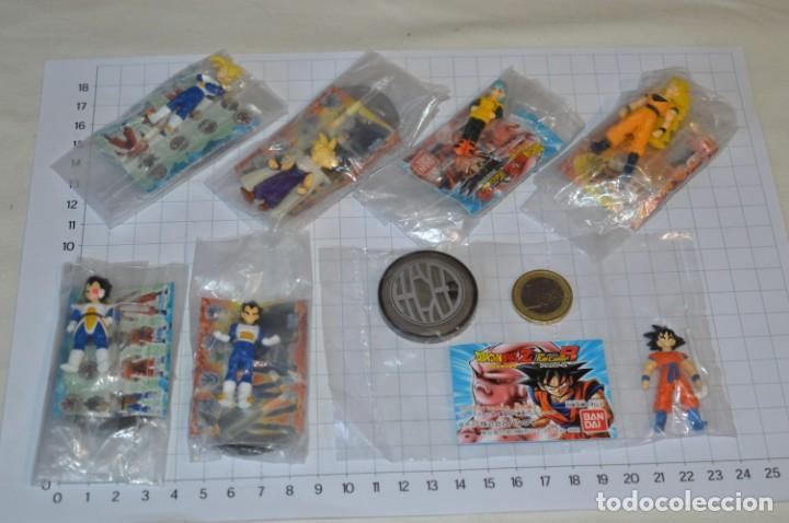 DRAGON BALL Z - ANTIGUO/VINTAGE, 7 FIGURAS, CON PEANA, SIN ABRIR, PERFECTAS / DE BANDAI ¡MIRA FOTOS! (Juguetes - Figuras de Acción - Manga y Anime)