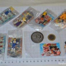Figuras y Muñecos Manga: DRAGON BALL Z - ANTIGUO/VINTAGE, 7 FIGURAS, CON PEANA, SIN ABRIR, PERFECTAS / DE BANDAI ¡MIRA FOTOS!. Lote 264434954