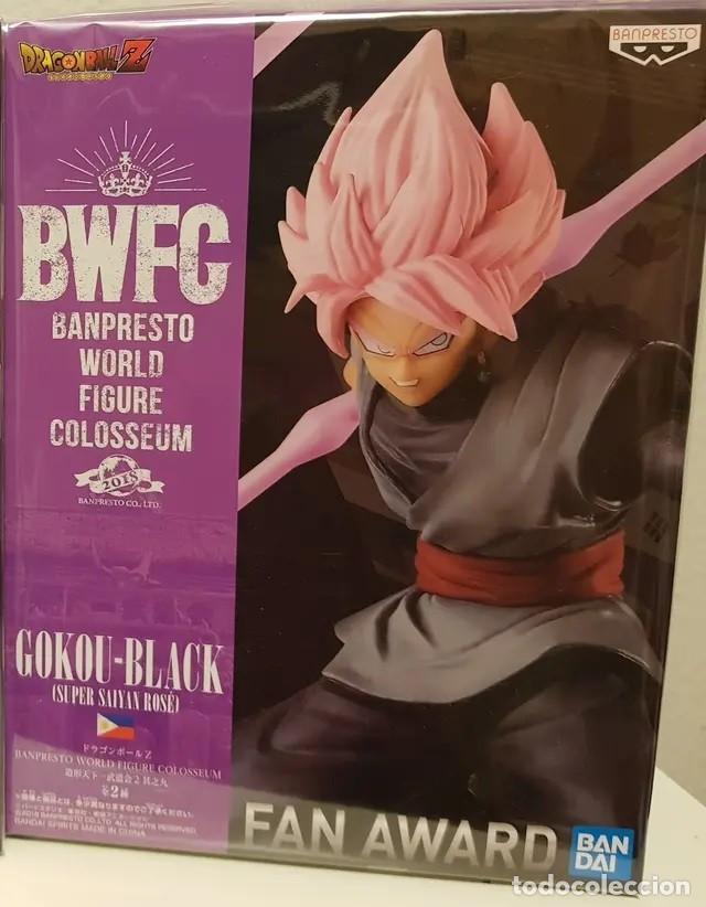 Figuras y Muñecos Manga: Dragon Ball Z, Son Goku -Black Super Saiyan Rose BWCF BANPRESTO 2019 - Foto 2 - 178324910