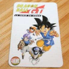 Figuras y Muñecos Manga: ANTIGUO CALENDARIO DE BOLSILLO DE DRAGON BALL GT - AÑO 1998. Lote 267376824