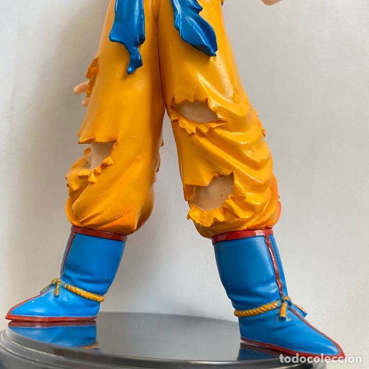 Figuras y Muñecos Manga: Figura Son Goku Super Saiyan Dragon Ball Bola de dragon 24 cm aprox. - Foto 3 - 269207533
