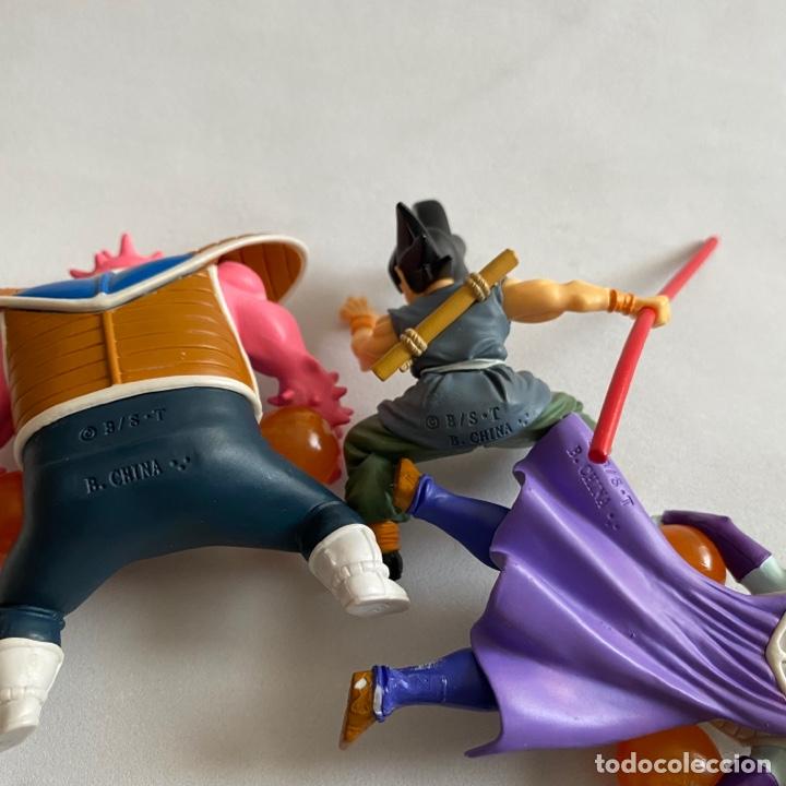 Figuras y Muñecos Manga: Lote 3 figuras Dragon ball Zarbon-Goku-Dodoria Gashapon HG Bandai B S/T bola de dragon - Foto 6 - 269223968