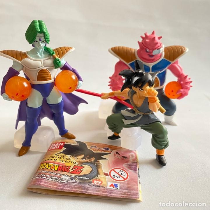 LOTE 3 FIGURAS DRAGON BALL ZARBON-GOKU-DODORIA GASHAPON HG BANDAI B S/T BOLA DE DRAGON (Juguetes - Figuras de Acción - Manga y Anime)