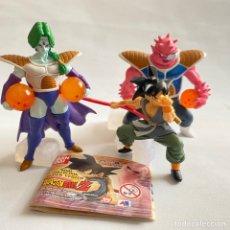 Figuras y Muñecos Manga: LOTE 3 FIGURAS DRAGON BALL ZARBON-GOKU-DODORIA GASHAPON HG BANDAI B S/T BOLA DE DRAGON. Lote 269223968