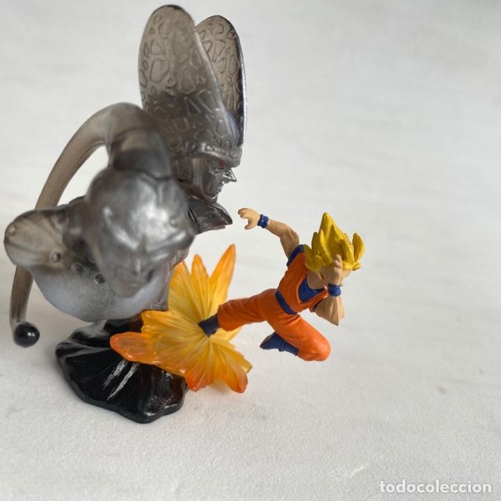 Figuras y Muñecos Manga: Lote 3 figuras dioramas Gashapon Dragon Ball Z Freezer-Goku-Buu-celula-son gohan - Foto 4 - 269258263