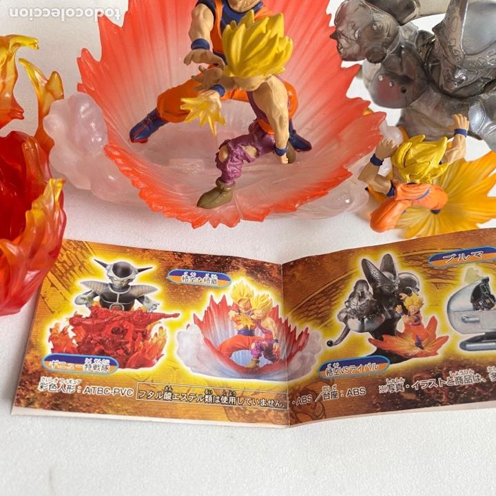 Figuras y Muñecos Manga: Lote 3 figuras dioramas Gashapon Dragon Ball Z Freezer-Goku-Buu-celula-son gohan - Foto 7 - 269258263