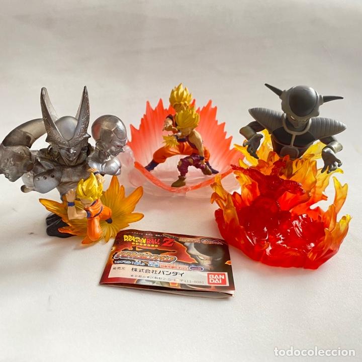 LOTE 3 FIGURAS DIORAMAS GASHAPON DRAGON BALL Z FREEZER-GOKU-BUU-CELULA-SON GOHAN (Juguetes - Figuras de Acción - Manga y Anime)