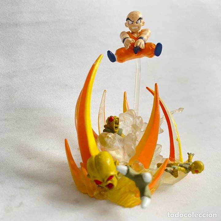 Figuras y Muñecos Manga: Lote 2 figuras dioramas Gashapon Dragon Ball Z Imagination figure 9 Bandai Krilin-Goku-vegeta - Foto 2 - 269260303