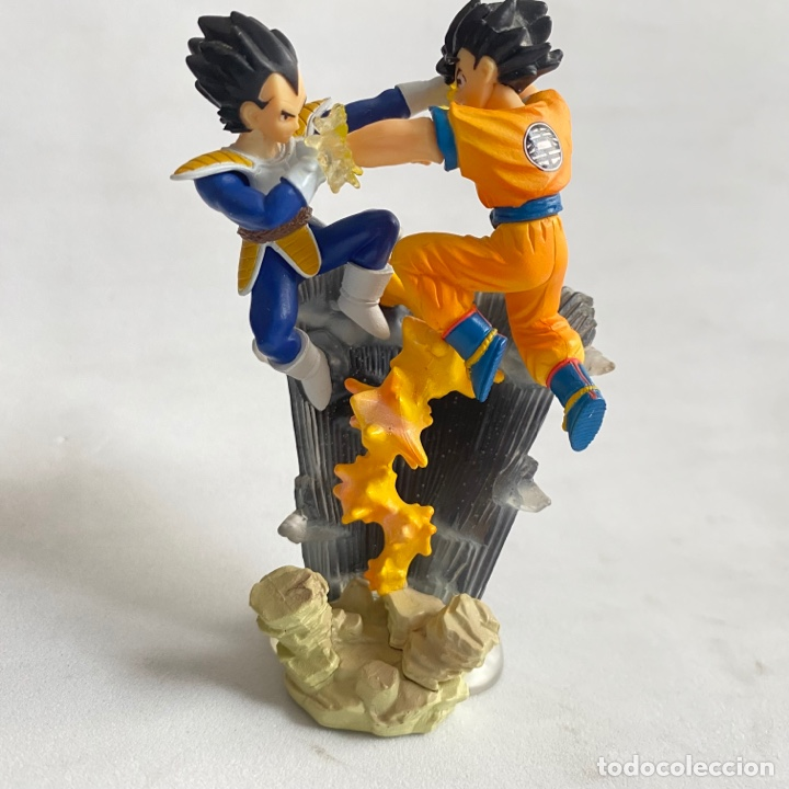 Figuras y Muñecos Manga: Lote 2 figuras dioramas Gashapon Dragon Ball Z Imagination figure 9 Bandai Krilin-Goku-vegeta - Foto 3 - 269260303