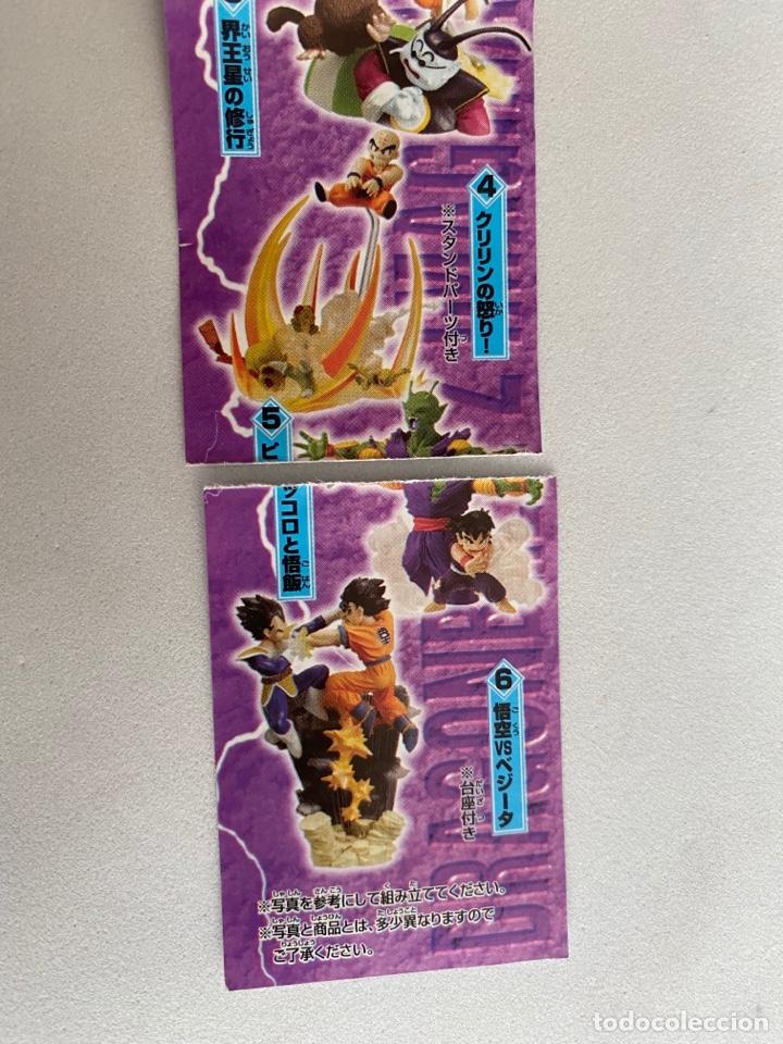 Figuras y Muñecos Manga: Lote 2 figuras dioramas Gashapon Dragon Ball Z Imagination figure 9 Bandai Krilin-Goku-vegeta - Foto 4 - 269260303