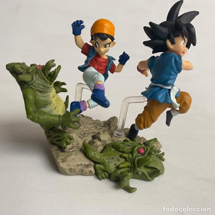 Figuras y Muñecos Manga: Lote 2 figuras dioramas Gashapon Dragon Ball GT Imagination figure Bandai Pan-Super saiyan 4-baby - Foto 2 - 269291373