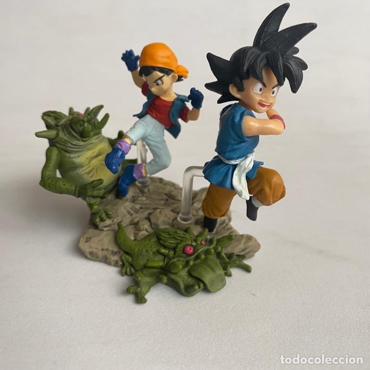 Figuras y Muñecos Manga: Lote 2 figuras dioramas Gashapon Dragon Ball GT Imagination figure Bandai Pan-Super saiyan 4-baby - Foto 3 - 269291373